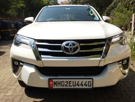 Used 2018 Toyota Fortuner car at low price
