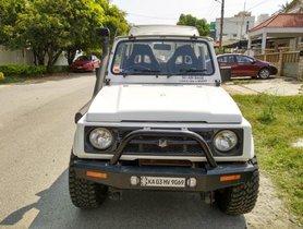 Used 2015 Maruti Suzuki Gypsy car at low price