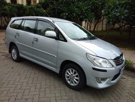 Used 2013 Toyota Innova 2.5 VX (Diesel) 8 Seater for sale