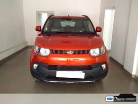 Used 2017 Mahindra KUV100 car at low price
