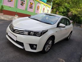Used 2014 Toyota Corolla Altis for sale at low price