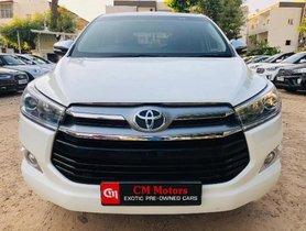 Used 2016 Toyota Innova Crysta car at low price