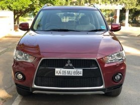Used Mitsubishi Outlander car at low price