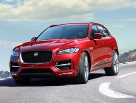 New Jaguar F-Pace Petrol Launched In India at Rs 63.17 lakh
