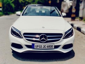 Used 2017 Mercedes Benz C Class for sale at low price