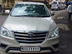Toyota Innova 2.5 GX (Diesel) 8 Seater BS IV by owner