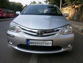 Good as new Toyota Platinum Etios G for sale