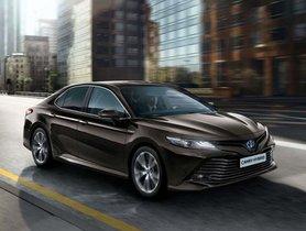 India-bound 8th-Gen Toyota Camry Unveiled In Thailand