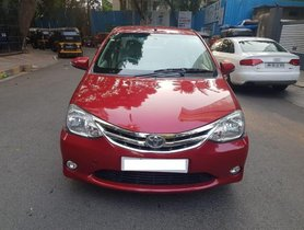 Good as new Toyota Platinum Etios 2014 for sale