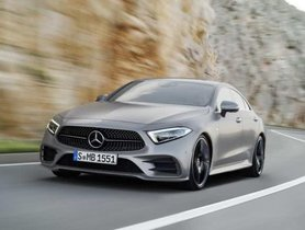 2018 Mercedes-Benz CLS To Be Released In India On 16 November