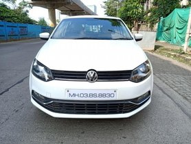 Good as new 2015 Volkswagen Polo for sale at low price
