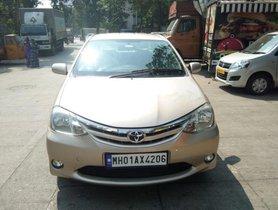 Used Toyota Platinum Etios V 2011 for sale