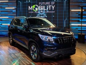 Mahindra Alturas G4 SUV (Y400) To Launch On November 24, 2018