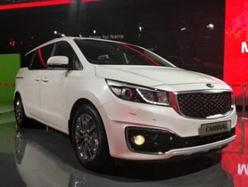 Kia Carnival MPV to Launch in India by 2020