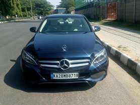 Mercedes Benz C Class C 220 CDI Elegance AT 2015 by owner