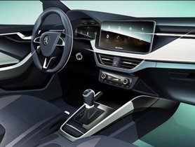 Skoda Scala's Interior Sketch Revealed, To Be Launch In 2019 In Europe