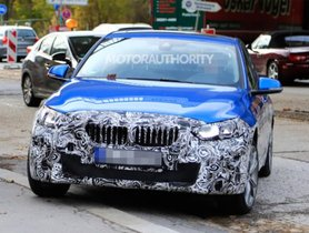 BMW 1 Series Sedan Spotted Being Tested, Expected To Go On Sale in India
