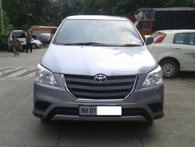 Toyota Innova 2.5 G (Diesel) 8 Seater BS IV 2015 for sale at low price