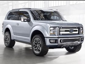 Facelifted Ford Bronco SUV Leaked At A Dealer Meeting