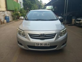 Used 2009 Toyota Corolla Altis car at low price