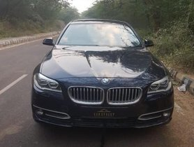 Used 2014 BMW 5 Series car at low price