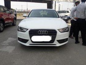 Used 2013 Audi A4 car at low price