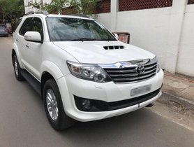 Used Toyota Fortuner 4x2 AT 2012 in Chennai
