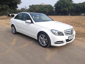 Mercedes Benz C Class C 220 CDI Avantgarde 2013 for sale