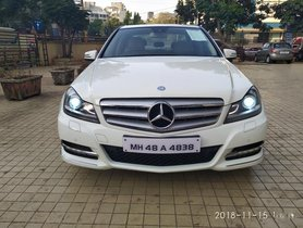 Mercedes Benz C Class 2012 for sale at low price
