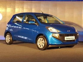 Hyundai Santro Bookings Hit 35,000 of booking