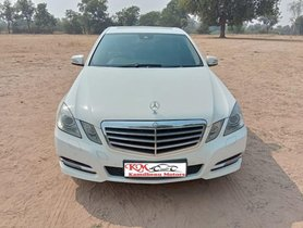 Used 2012 Mercedes Benz E Class car at low price