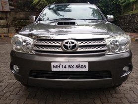 Toyota Fortuner 3.0 Diesel 2010 for sale at best price