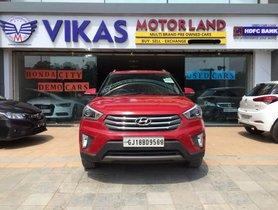 Used Hyundai Creta 1.6 VTVT SX Plus Dual Tone 2015 for sale