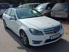 Used Mercedes Benz C Class 220 CDI AT 2014 for sale