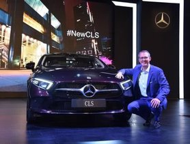 Third-gen Mercedes Benz CLS Launched At Rs 84.70 Lakhs