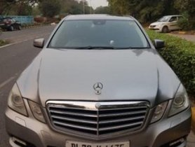Used 2018 Mercedes Benz E Class  E350 CDI Elegance car at low price