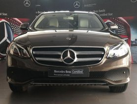 2018 Mercedes Benz E Class for sale