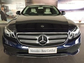 Mercedes Benz E Class E 220 d 2018 for sale