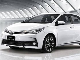 India-Bound Corolla Altis Vs. New Toyota Corolla: How Are They Similar And Different?