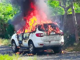 Businessman Burnt To Death In A Ford Endeavour