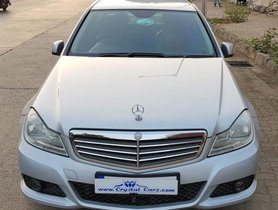Mercedes Benz C Class C AT 2012 for sale