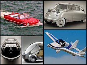 The Weirdest Cars Ever Designed: From Swimming Car to Egg-shaped Car