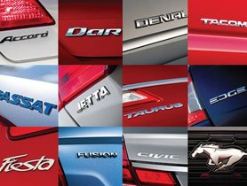 The Art Of Naming A New Car Model: How Famous Car Brand Their Cars