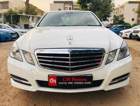 Used 2013 Mercedes Benz E Class car at low price