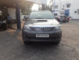 Used Toyota Fortuner 4x2 4 Speed AT 2012 by owner
