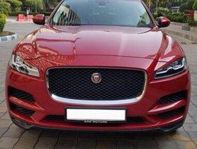 Used Jaguar F Pace car at low price