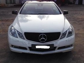 Used Mercedes Benz E Class 2010 car at low price