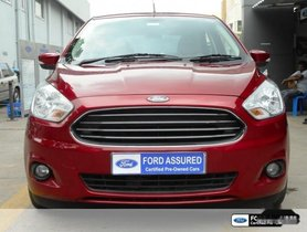 Ford Aspire Titanium Automatic 2015 for sale