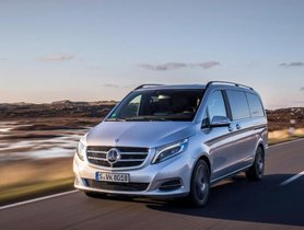 Mercedes-Benz V-Class To Come In January 2019