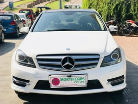 Used 2014 Mercedes Benz C Class car at low price